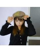 ☆結月こころ直筆サイン入りハンチング帽(茶色系)☆