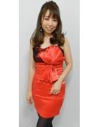 柄澤さとみさん☆あかいおしゃれなドレス☆