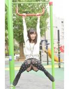 ♪稲森美優さんが撮影で着用したニーハイソックス