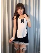 彩城ゆりなのメイド服