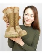 三上玲奈さん☆茶色のかわいいブーツ☆