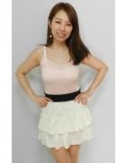 柄澤さとみさん☆ふりふりのかわいいスカート☆