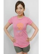 木下かれんさん☆ピンクのかわいいTシャツ☆
