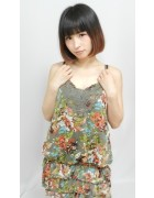 茶々さん☆花柄のかわいいワンピース☆