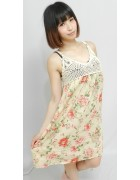 茶々さん☆かわいい花柄のワンピース☆