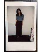 水嶋紗羅さんが愛用した迷彩柄のスニーカー。チェキ付き!