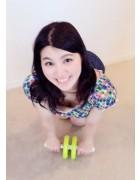 高村香代さんがトレーニングで使用した腹筋ローラー。チェキ付き!