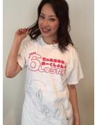 長南ゆか★直筆サイン入り【DMM6周年記念】Tシャツ★チェキ付き