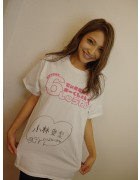 小林愛梨★直筆サイン入りDMM6周年記念Tシャツ