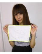 ☆結月こころ 直筆サイン入りミニタオル(白×黄)☆