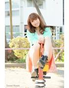 ♪樹智子さんが撮影で着用したアンクルソックス