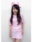 春名美緒さんが撮影会で使用したナースコスプレ!サイン入りチェキ付き。