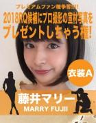 藤井マリー応援企画! グラビアカメラマン撮影の宣材プレゼント権【衣装A】