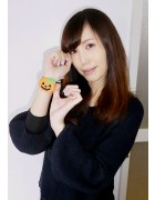 ☆七海ひより 直筆サイン入りかぼちゃヘアゴム☆