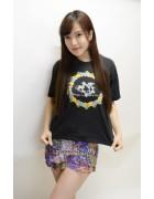 小松りな☆パープル系スカート
