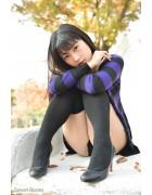 ♪佐倉仁菜さんが撮影で着用したニーハイソックス