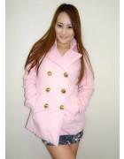 いしいめぐみさんが愛用したピンク色のピーコート。サイン入りチェキ付き。