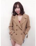 笹森陽菜さんが愛用したピーコート。サイン入りチェキ付き!