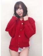 笹森陽菜さんが愛用した赤いジャンパー。サイン入りチェキ付き!