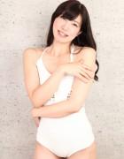 浪瀬まゆみ☆直筆サイン入り写真&直筆サイン入り撮影衣装(ホワイト×ワンピースタイプ)