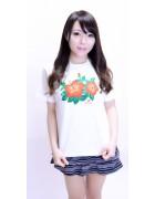 本多希☆ハイビスカスTシャツ