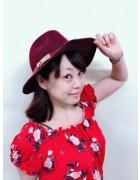 田中有香さんが愛用したお洒落なハット。サイン入りチェキ付き!