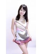 沖田えみ☆ピンクスカート