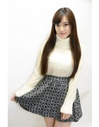 小松りな☆愛用☆ブラックスカート