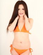 鮎川アスナ☆直筆サイン入り写真&直筆サイン入り撮影衣装(オレンジ)