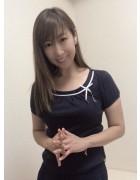 井村麻美 サイン入り ネイビーリボン付きカットソー