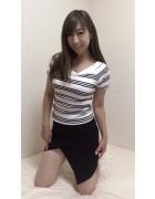 井村麻美 サイン入り ブラックデザインミニタイトスカート