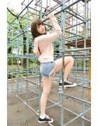 ♪竹内 花さんが撮影で着用したショートパンツ