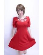 さくら☆レッドワンピースドレス