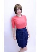 さくら☆紺色スカート