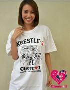 Cheer 1西原啓子限定直筆サイン入り『Cheer 1×WRESLE-1』コラボTシャツ【21】