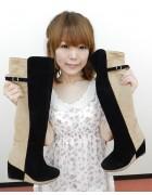 ゆうきうさぎさん☆ツートンのおしゃれなブーツ☆