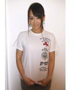 ☆市川みか 直筆サイン入りロゴTシャツ☆