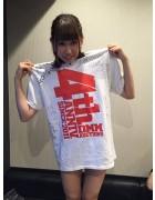 【4周年記念】 CANDY GO!GO!佐伯かなサイン入りDMMオリジナルTシャツ