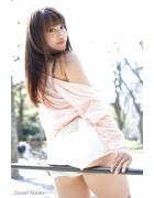 ♪璃乃さんが撮影で着用したデニムショートパンツ