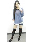 空風マイキさん☆かわいいニーハイソックス☆