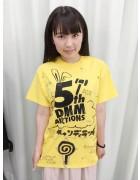 【5周年記念】 おやゆびプリンセス宮腰愛美サイン入りDMMオリジナルTシャツ
