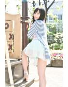 ♪英里香さんが撮影で着用したミニスカート