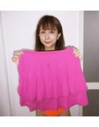 ☆結月こころ直筆サイン入りミニスカート(ピンク)☆
