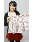 横山舞衣さん☆花柄のかわいいスカート☆