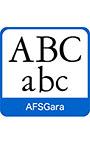 AFS復刻欧文フォント AFSGara