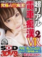 【VR】超リアル 電車痴漢 2