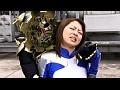 グラドル戦隊 退魔巫女戦騎トリプルランサー 青い死闘! 時の牢獄からの脱出 サンプル画像 No.1