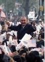 ジョンソン大統領のアジア歴訪 資料映像