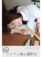 【グラビアアイドル過激撮影動画】マル秘グラビアアイドル個人撮影会-赤木なお-制服