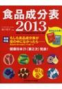 食品成分表 便利な2分冊 2013